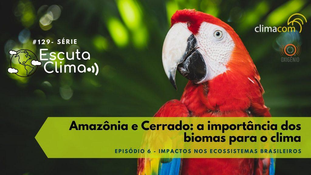 #129 – Escuta Clima – ep. 6 – Amazônia e Cerrado: a importância dos biomas para o clima