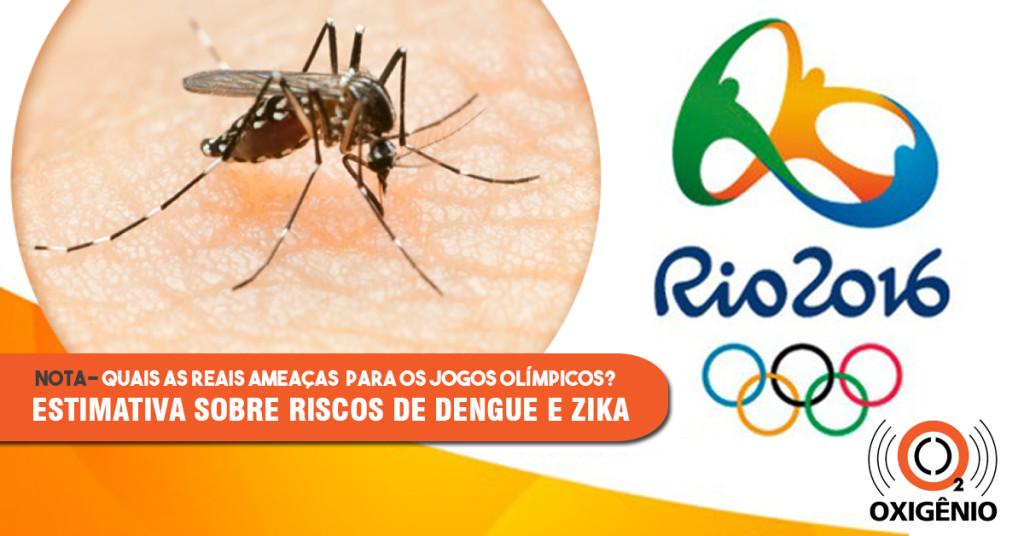 Pesquisadores estudam as reais ameaças de dengue e zika para as Olimpíadas de 2016