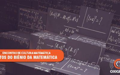 Evento aborda a cultura matemática, diagnósticos e perspectivas