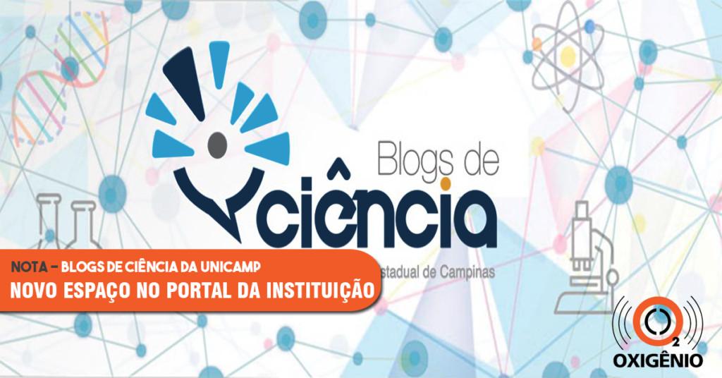 O projeto Blogs de Ciência da Unicamp ganha espaço no portal da instituição