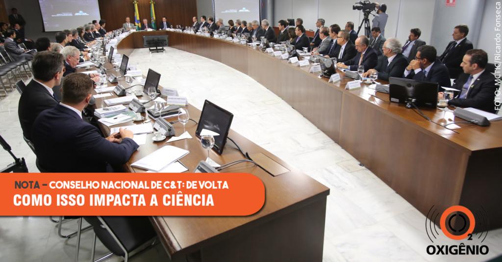Conselho Nacional de Ciência e Tecnologia é reativado
