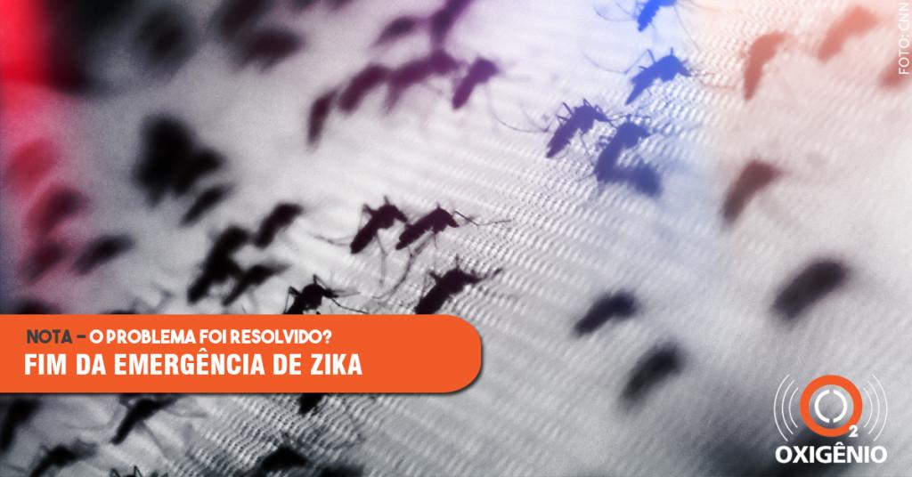 O que significa o fim da emergência de zika?