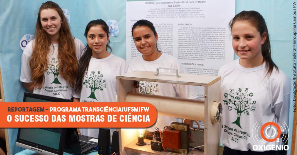 Mostra de ciências integra estudantes, professores e Instituto Federal
