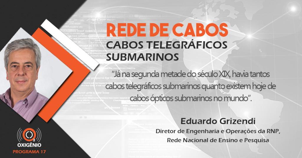 Coluna de Eduardo Grizendi : os cabos telegráficos submarinos.