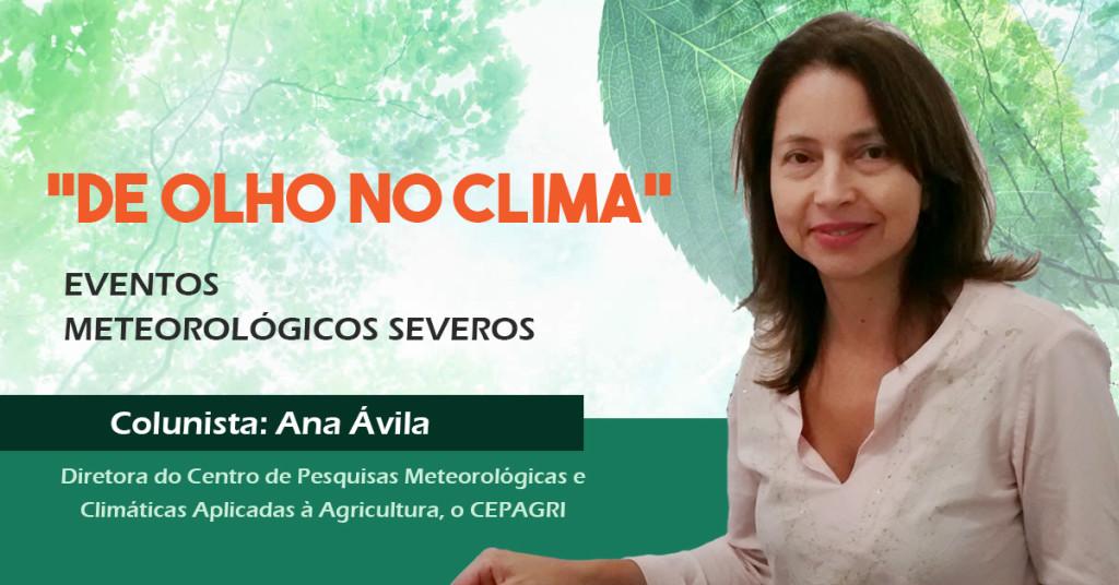 """""""De Olho no Clima"""": eventos meteorológicos severos"""